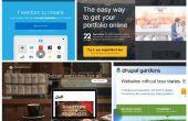 ¿Cómo hacer tu propio sitio web? Top 25 constructores de sitio web de Best