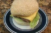 Sabrosa hamburguesa con queso