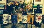 Etiquetas de botella fiesta HALLOWEEN