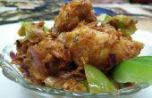 Fritos de coliflor crujiente de aire