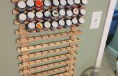 Arte o modelo de estante del almacenaje de pintura barato