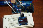 Medidor de voltaje OLED de Arduino
