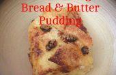 Pudín de pan y mantequilla