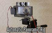 Plataforma de fotografía panorámica de alta resolución