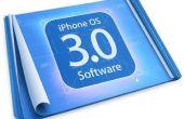 Cómo actualizar y jailbreak Ipod/Iphone en la 3.0 OS (no para IPHONE 3 g)