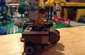 Coche lateral de LEGO motos