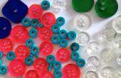 Lasercut botones y perlas
