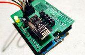 Construcción de un escudo de Arduino para el transmisor-receptor nRF24L01 +