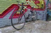 Medida 3D impreso bicicleta fibra de carbono