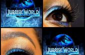Mundo Jurásico caída inspirado maquillaje por PorcheaKhadijiahBaby