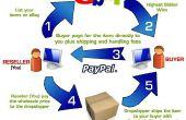Iniciar un envío de la gota en eBay