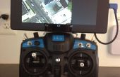 Nexus 7 R/C Control montaje con piezas de monta sobra cámara GoPro