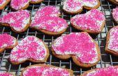 Rosa Pierrot Cookies