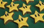 Fácil 4 ingredientes estrellas de canela Super Mario