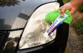 Cómo restaurar su coche faros