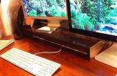 Canalización vertical y altavoces monitor