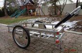 Capaz de doble carro con ruedas desmontables