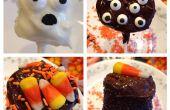 Espeluznante Marshmallow Pops