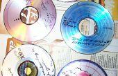 Diseños artísticos en discos compactos