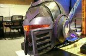 LEDs del casco de cazador de recompensas