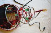 Alimentado por USB árbol de Navidad de LED con sonido