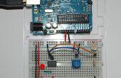 Detector de luz/oscuridad usando un op-amp