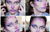 Cheshire cat maquillaje inspirado