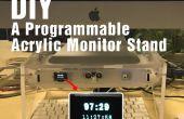DIY soporte de Monitor un acrílico programable