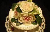 Falso pastel de boda del estilo años 1940