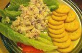 Salados, ensalada crujiente de pavo
