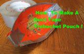 Cómo hacer cinta de conducto Trebuchet bolsa!