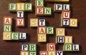 Cómo hacer tus propio pentominós de alfabeto bloques