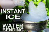 Hielo instantáneo - cómo Waterbend en la vida Real