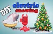 Cómo hacer bricolaje eléctrico árbol de Navidad que nieva