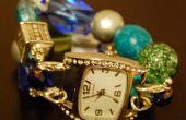 Correas de reloj DIY cuentas