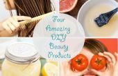 Belleza casera - cuatro productos increíbles DIY