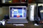 Cómo jugar en una consola en un ordenador portátil (NTSC solamente)