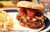 El mejor tocino y queso hamburguesa alguna vez!