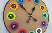 Reloj de tapa de Play-Doh