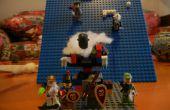Cómo hacer un arma de artillería básico de Lego