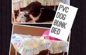Cama de cucheta de perro de PVC