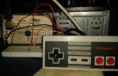 Retro NES de control de convertir un USB