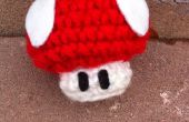 Ganchillo de Mario Mushroom