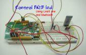 Led de Bluetooth controlado