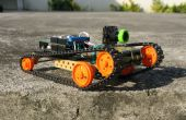 BRICOLAJE teléfono controlado Rover FPV (rápido y ágil)