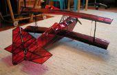 3D impreso biplano ultimate 10-300