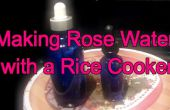Cómo hacer agua de rosas con un vapor de arroz
