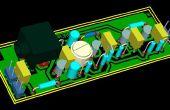 Transistores de amplificador cuatro audífonos (buena calidad y bajo costo)
