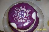 ¿Torta de cumpleaños de lunares funky