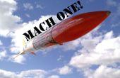 Cohete supersónico - Mach mi día!